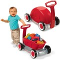 radio-flyer-petit wagon en plastique 3 en 1 rouge